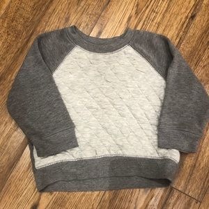 OLD NAVY / two toned gray sweatshirt